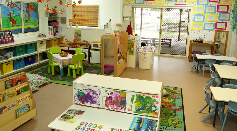 jr kindy room Bay House